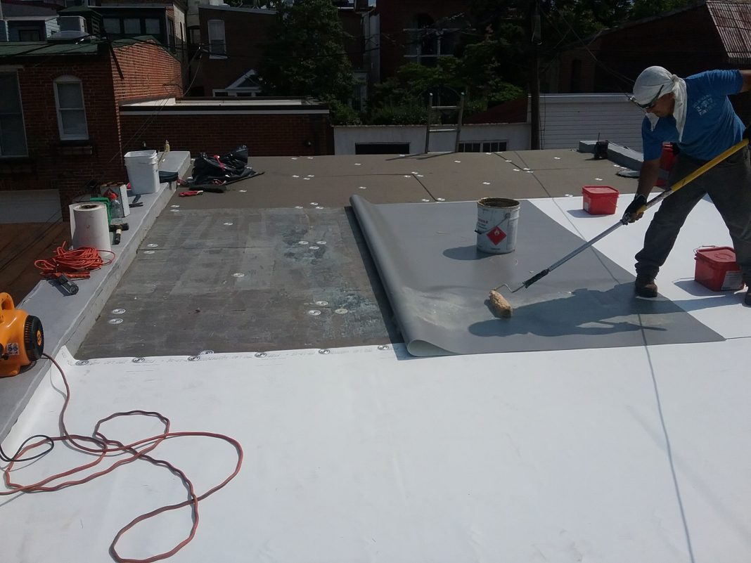 Common Issues In Rowhouse Flat Roofs Midcity Dc News